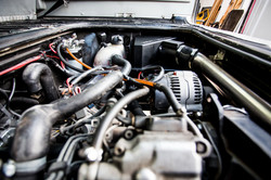 Luftfilter, Luftfiltergehäuse, Ansauganlage VW T3 TDI Umbau