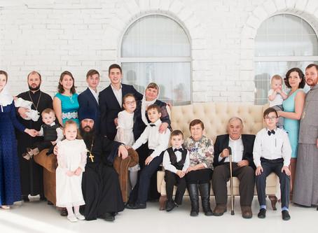 """Фотопроект """"ПОКОЛЕНИЯ"""" для больших семей"""