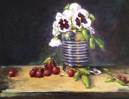Pansies and Grapes
