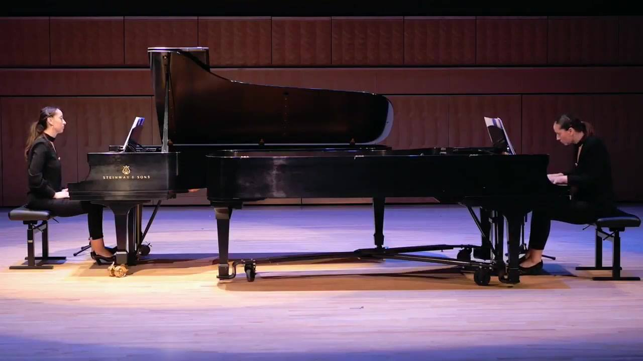 Sonata for Two Pianos, 1st Movement