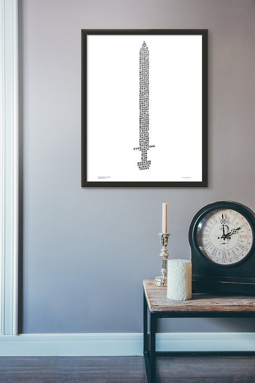 Sword Poster + free bookmark