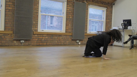 'The Circular' a performed improvisation practice as part of 'Sufi in the City'