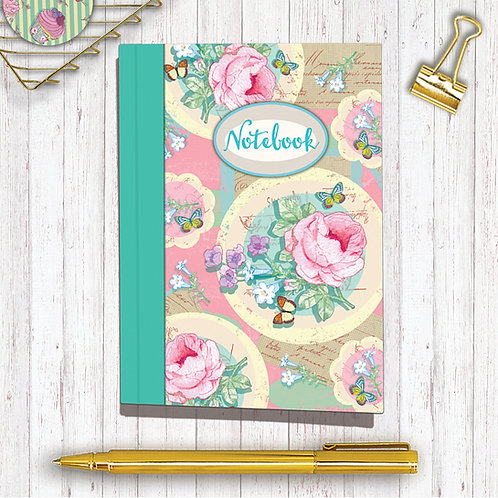 Set of 6 Notebooks CodeA6NB08 Couture