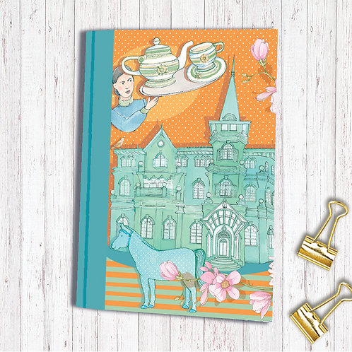 Set of 6 Notebooks code AR010MOLLSKETCHA6 Moller Villa