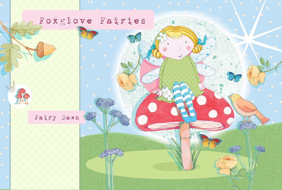 License this Foxglove Fairies Fairy Dawn