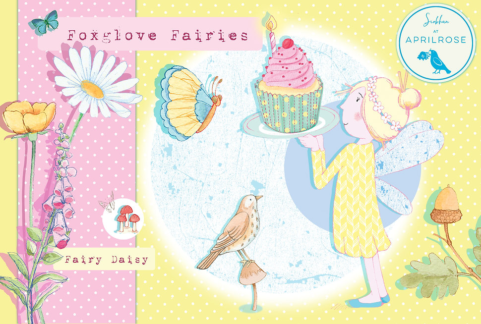 License this Foxglove Fairies Fairy Dais