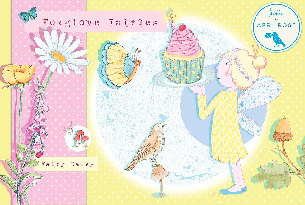 License this Foxglove Fairies Fairy Dais