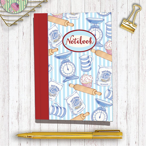 Set of 6 Notebooks CodeA6NB03 Baking