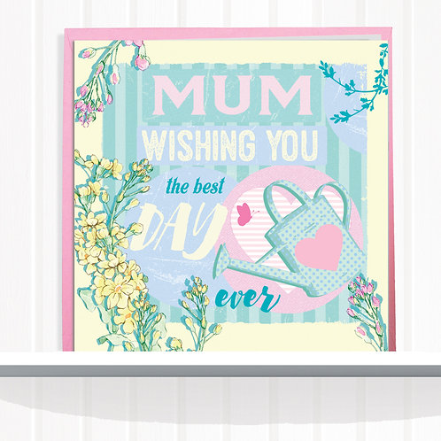 Message Me Range Greeting Card set of 6 code AR0118MUM Mum