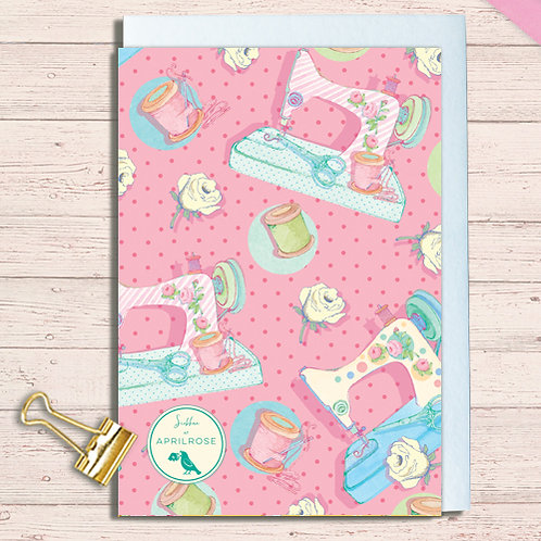 Set of 6 Notelet Packs Code NoteAR05 Sewing