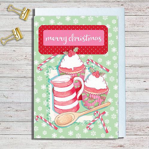 Christmas Card Packs Code NoteAR019 Christmas Baking