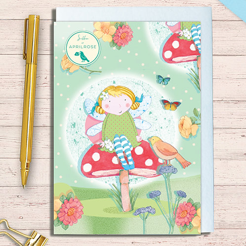Set of 6 Notelet Packs Code NoteAR11 Fairy Dawn