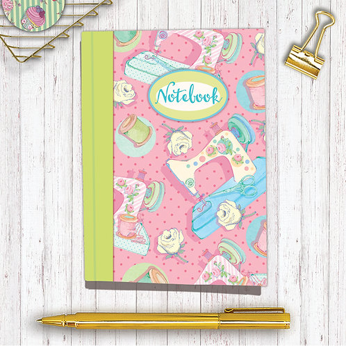 Set of 6 Notebooks CodeARNB07Sewing
