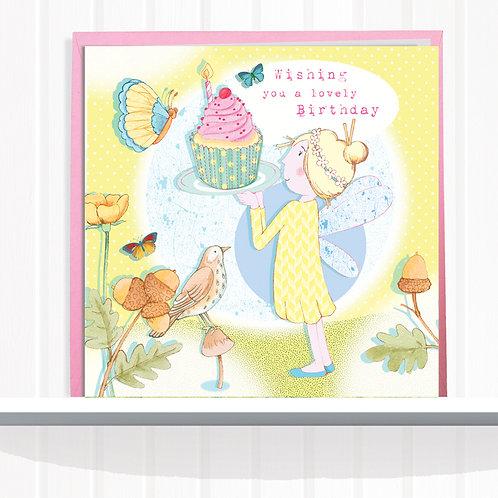 Fairies of Foxglove Dell Range Greeting Card  set of 6 AR0121DAI FairyDaisy