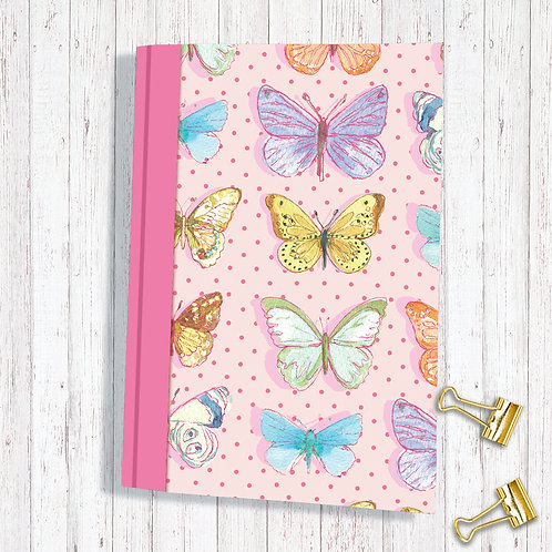 Set of 6 Notebooks code AR08FLYSKETCHA6 Butterfly