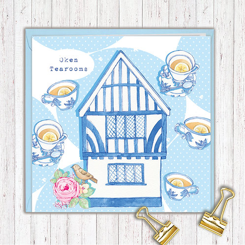 Places & Spaces Range set of 6 Code AR0154OKE Oken Tearooms