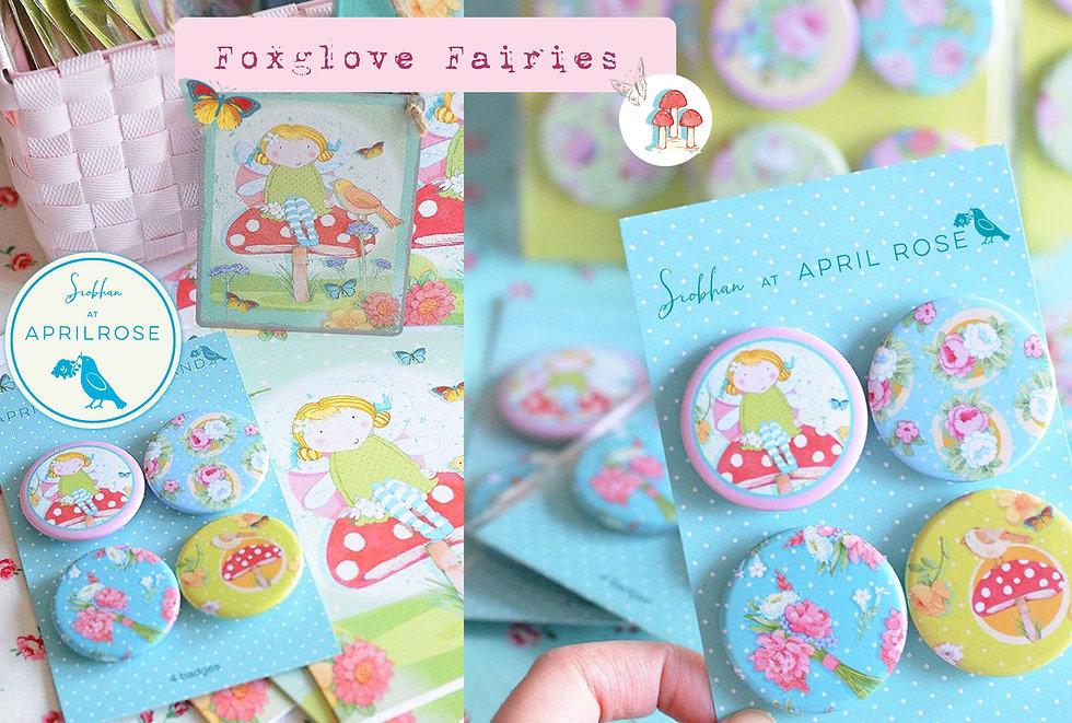 License this Foxglove Fairies Fairy Dawn