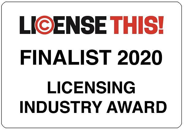 License This Finalist award flat.JPG