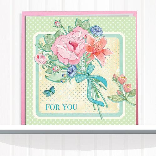 Vintage Home Range Greeting Card Blank inside set of 6