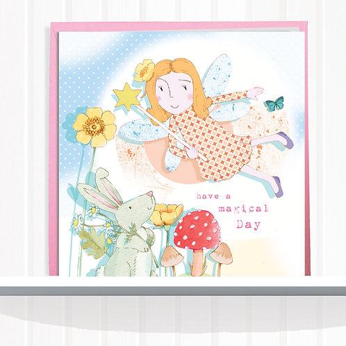 Fairies of Foxglove Dell Range Greeting Card  set of 6 CodeAR0127MAGMagic