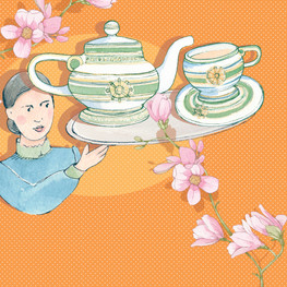 Moller Villa, Shanghai. Afternoon Tea