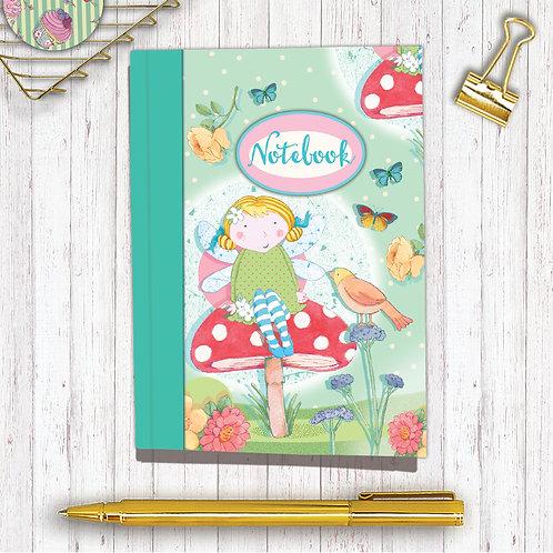 Set of 6 Notebooks CodeA6NB09 Fairy Dawn