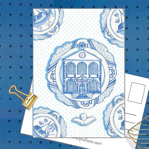 Bluecoat Postcard  set of 12 CodePOSTPLA33 BLUECOAT Plate