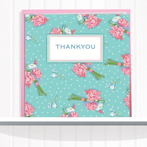 Ooh La La Range Greeting Card Blank inside set of 6