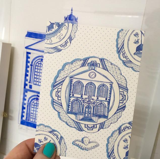 Bluecoat Postcard