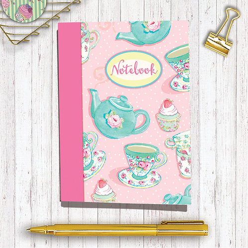 Set of 6 Notebooks CodeA6NB06 Tea