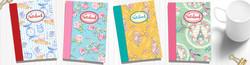 New April Rose Notebooks