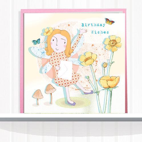 Fairies of Foxglove Dell Range Greeting Card setof CodeAR0124CUP Fairy Buttercup