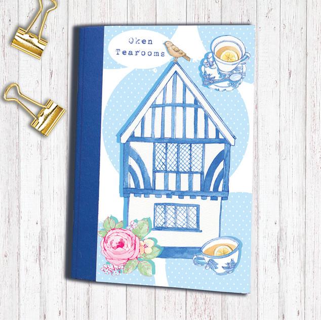 Oken Tearooms Notebook
