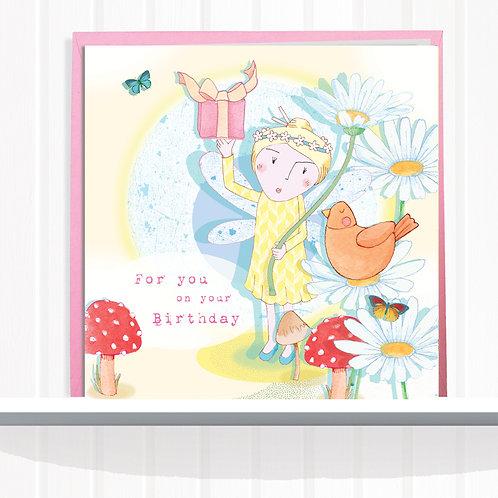Fairies of Foxglove Dell Range Greeting Card set of 6 codeAR0123PRE Fairy