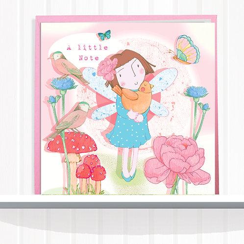 Fairies of Foxglove Dell Range Greeting Card setof6 CodeAR0122BIR Fairy Joy Bird