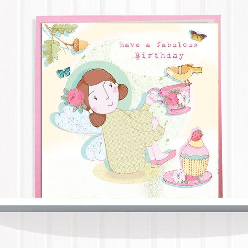 Fairies of Foxglove Dell Range Greeting Card  set of 6CodeAR0125TEA Teatime