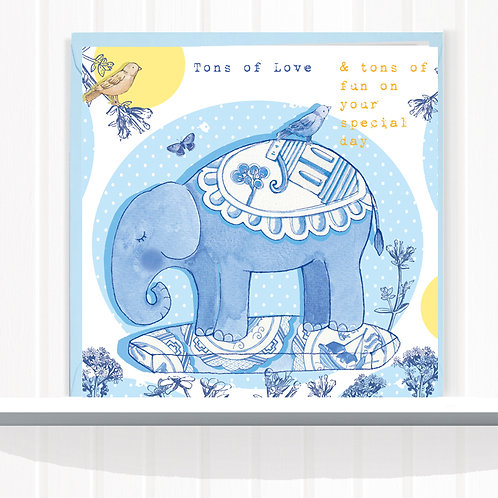 Willow Love Birds Range Greeting Card Blank inside set of 6 Code AR0158TONS Tons