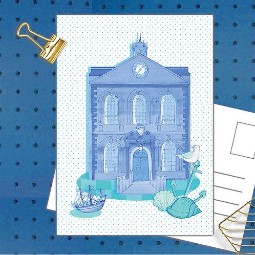 Bluecoat Postcard  set of 12 code POSTCOA35