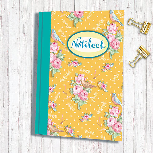 Set of 6 Notebooks code AR013SONGBIRDKETCHA6 Songbird