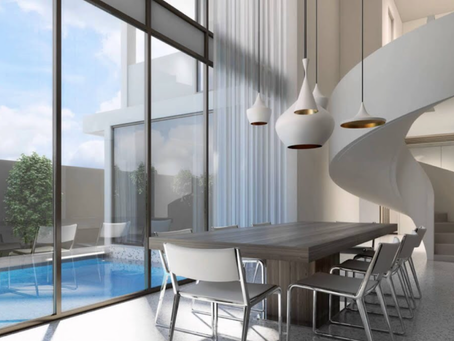 Modern interior design option presented by A3 Luxury Living