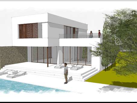 Designer villa for one of our clients @Santa Ponsa.