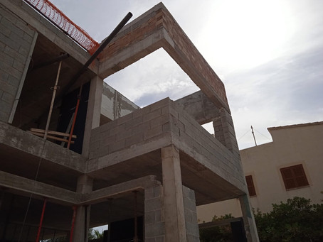Colonia de Sant Pere - Gessami - structure and pool ready