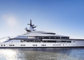 Project Bravo. New 109meter long superyacht from Oceano.