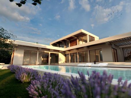New design study for a larger villa in Santa Ponsa - Mallorca.