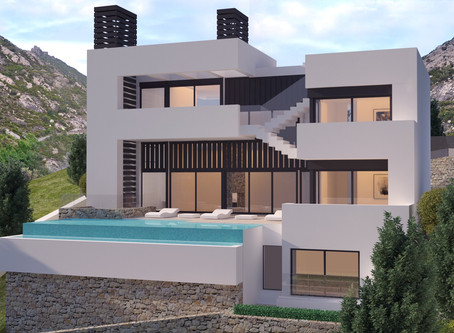 ———Villa Horizon———  Renders completed on the most exciting project in Altea Hills.