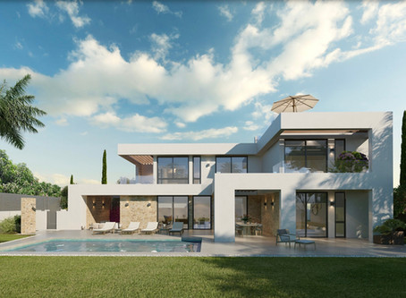 Another villa designed and  soon to be constructed by A3 Luxury Living in Portocolom Mallorca.