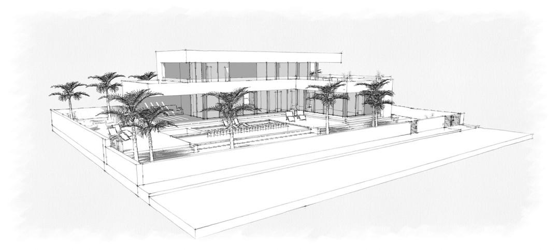 Villa Sexton - Concept Model - Image2.jp