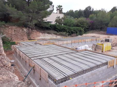 Nova Santa Ponsa - villa construction - 04.06.21