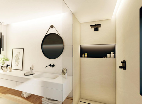 New bathroom renders for our standard bathroom layout.