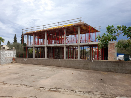 Structure in Portocolom nearly finished!